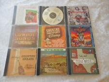 9 CDs Country Mixed Lot All LIKE NEW Bond, Disney, Roots, Tubb, Lynn, Lee+++449