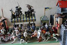 Château et tournois / chevaliers / Papo / figurines / lot / jouet de collection