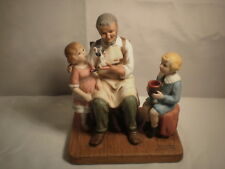 """Norman Rockwell The Toymaker 1979 Figurine 5"""" Tall"""