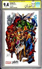 AVENGERS 1 SCOTT CAMPBELL VARIANT SDCC STAN LEE EDITION CGC SS 9.4 RARE