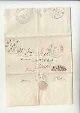 1855 ROMAGNA TOSCANA lettera CURIA VESCOVO SANTA SOFIA-GALEATA v.S.SEPOLCRO-h817