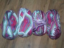 New listing 4 skein Universal Yarn Cotton Supreme Batik yarn ~ Jumping Jacks color Worsted