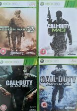 Call of Duty Games Xbox 360 Select Your Game Tested Fully Working