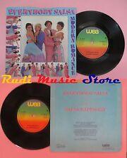 LP 45 7'' MODERN ROMANCE Everybody salsa Salsa rappsody 1981uk WEA no cd mc dvd