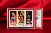 PSA MINT 9 1980 Topps Magic Johnson RC Julius Erving Jan van Breda Kolff Lakers