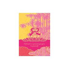 A Friend Is A Present Greeting Card & Envelope by Tree Free