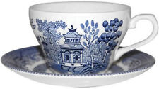 Earthenware 1980-Now Blue & White Transfer Ware Pottery