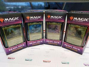 Throne of Eldraine: Brawl Deck Set of 4 Complete Set MTG magic the gathering