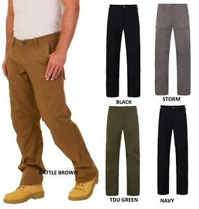 Tactical Mens Work Patrol Combat Cargo Hiking Trousers Pants Fishing Millitary