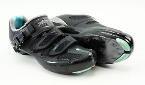 Specialized Torch Road Cycling Shoes Women's US 5.75 EUR 36 Black/Teal 3 Hole