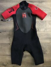New listing Body Glove Childs Shorty Spring Wetsuit Size 12 Pro 2 2/1 Kids Juniors Red Gray