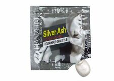 Disposable Hair Coloring agent color silver white wax mud grey hair style