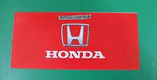 Honda brochure auto pubblicita depliant crx civic integra accord prelude legend