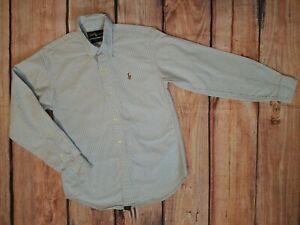 Ralph Lauren Button Down Long sleeve Shirt Boys Sz. 12 *EUC*