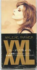 "MYLENE FARMER ""XXL"" JAPAN CD SINGLE 8 CM  3"" INCH / ANNEE 1995  ++ TRES RARE +++"