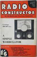 Radio Constructor, April 1955