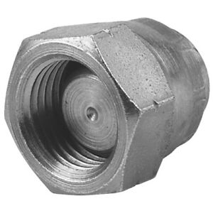 """BSPP Swivel 60° Coned Blanking Cap Hydraulic Adaptor Sizes 1/8"""" to 2"""""""