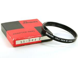 Bower 55-SER 7 Lens Adapter Ring 55mm - Series 7 VII New *JP