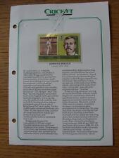 1879-1900 leader Cricket pagina COMMEMORATIVA: Briggs, Johnny Inghilterra [] (Tuvalu)