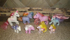 Vintage + Pony Lot of 8 Remco 1984 + China My Little Pony Horse Toy