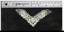 2P Adorable Venice Venise lace applique Medallion Trim Crefts Quilt Baby $ # E31