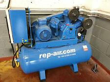 Air compressor 25CFM 270 litre tank 5.5HP. SINGLE PHASE 240 volts Includes VAT