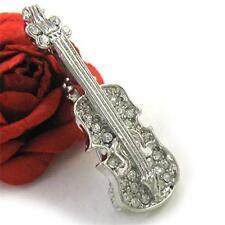 Violin Cello Music Instrument Brooch Pin Fashion Jewelry for Women