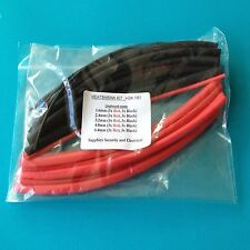 Heat Shrink Tube Kit -Red and Black 1mm to 6mm HSK BR1
