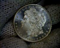 """""""Error"""" BU 1883-o VAM 36A E Clash Morgan Silver Dollar Coin"""