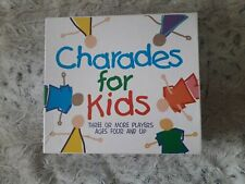 Charades for Kids board game. VGC