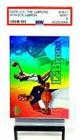 2006 Upper Deck Athlete LEBRON JAMES Basketball Card PSA 9 MINT / Low Pop 3 !!
