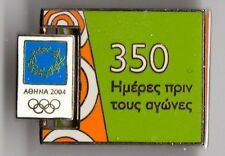 ATHENS 2004. OLYMPIC GAMES. MOVING PIN. 350 DAYS BEFORE THE GAMES. GREEK