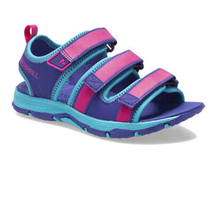 Merrell Boys Hydro Creek Shoes Sandals Purple Sports Outdoors Breathable