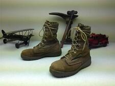 BELLVILLE DISTRESSED STEEL TOE LACE UP USMC MILITARY COMBAT BOOTS SIZE 5.5 M