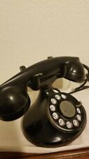 Vintage Bell Rotary Table Top Telephone Black