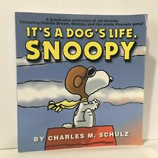 Peanuts: It's a Dog's Life, Snoopy by Charles Schulz Illust Free Shipping