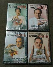 LOTE 4 DVD - LA COCINA DE FERRAN ADRIA - MENUS EN DIEZ MINUTOS - PRECINTADO