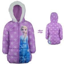 Eiskönigin Elsa Wintermantel Mantel Winter Jacke gefüttert Lila