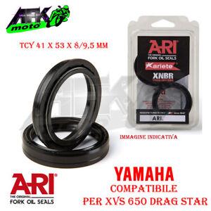 Paraolio Forcella TCY 41x53x8/9,5 mm per Yamaha XVS 650 Drag Star 1997-1998-1999