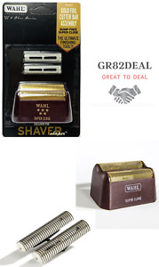 Wahl 7031-100 5 Star Series Shaver Shaper Gold Replacement Foil and Cutter Bar