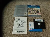 Deadline Commodore 64 C64 Game with casebook and cardboard holder