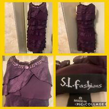 🎀BEAUTIFUL S.L. FASHIONS DRESS SIZE 8 EXCEL. COND.🎀