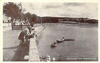 POSTCARD  DEVON    BARNSTAPLE   The  River   Taw