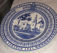 Wedgwood Rollins College Founded 1885 Blue Dinner Plate Vintage!
