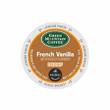 Green Mountain Coffee French Vanilla Decaf Coffee Keurig K-Cups 24-Count