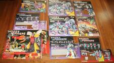 9ct Lot Very Large Transformers G1 Box Cutouts Panels - No Figures Canadian