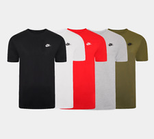 Nike Swoosh Futura Men's T-Shirt 5 Colours Size S-XXL