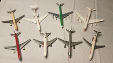 8 Plastic 1:200 Airplane Commercial Jet Models Northwest TWA DHL Burlington Air