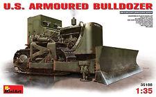 MiniArt 1/35 35188 WWII US Army Armoured Bulldozer