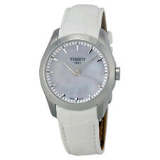 Tissot Couturier Grande Automatic Mother of Pearl Dial White Leather Mens-AU